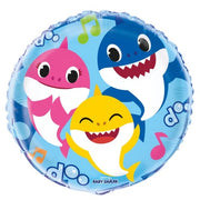 Baby Sharks 18 inch Foil Balloons