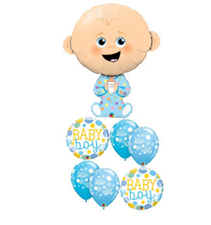 Baby Boy PJ Balloon Bouquet