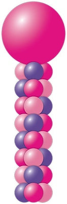 Balloon Column Tower 7 Foot