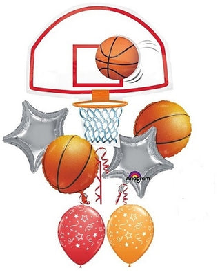 Basketball Hoop Balloon Bouquet 3
