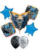 Batman Cape Birthday Balloon Bouquet
