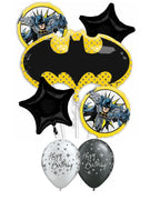 Batman Emblem Bat Shape Birthday Bouquet