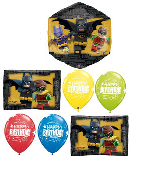 Batman Lego Movie Birthday Balloon Bouquet