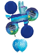 Battle Royal Llama Birthday Balloon Bouquet 1