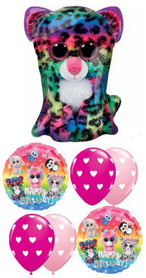 Beanie Boos Birthday Balloon Bouquet 3