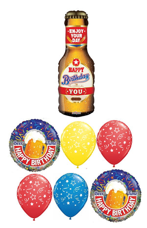 Birthday Beer Bottle Bouquet 4