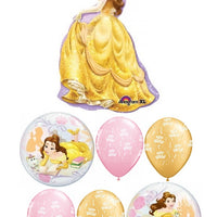 Belle Bubbles Birthday Balloon Bouquet
