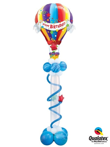 Hot Air Birthday Balloon Stand Up 1