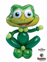 Frog Balloon Stand Up 1