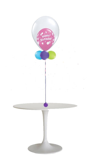 Centerpiece 18 inch Balloon in Balloon