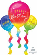 Birthday Fun 36 inch Foil Balloons