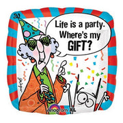 Birthday Maxine Party Gift 18 inch Foil Balloon with Helium