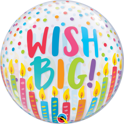 Birthday Wish Bubbles Balloon