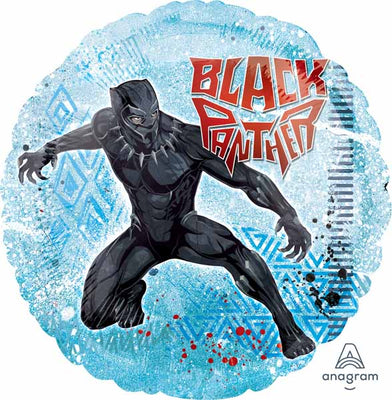 Black Panther 18 inch Round Foil Balloon