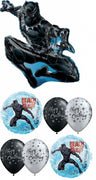 Black Panther Birthday Balloon Bouquet