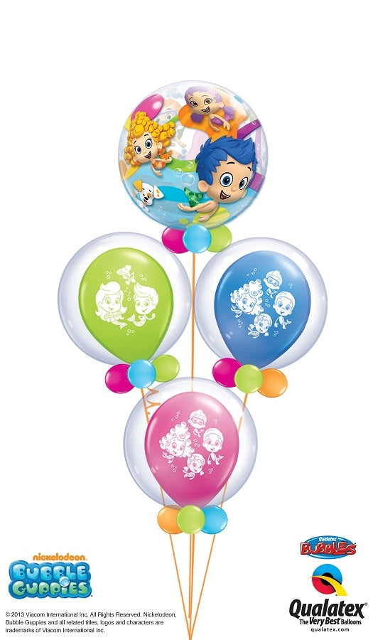 Bubble Guppies Bubbles Balloon Bouquet 2