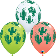 Cactus Assortment Balloons