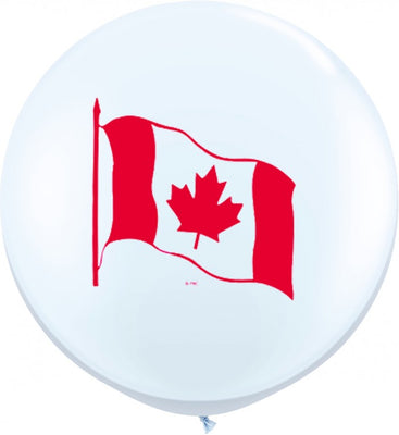 Canada Day Canadian Flag 36 inch Jumbo Balloon
