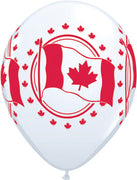 Canada Day Flag Maple Leaf Balloons