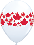 Canada Day Maple Leaf A Round Balloons