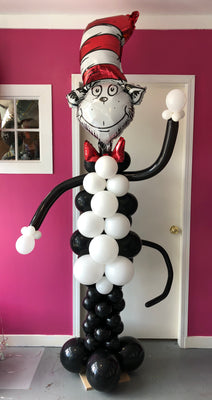 Dr Seuss Cat In The Hat Balloons Balloon Place