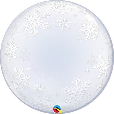 Christmas Snowflakes Deco Bubbles Balloon
