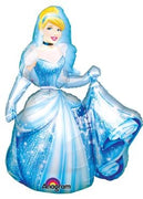 Cinderella Balloon Airwalker (Includes Helium)
