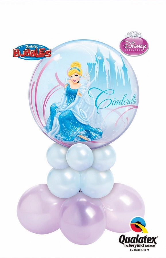 Cinderella Balloon Centerpiece 3