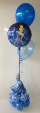 Cinderella Sparkle Balloon Centerpiece