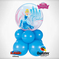 Cinderella Bubble Balloon Centerpiece 2
