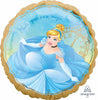 Cinderella Once Upon A Time Birthday Balloon
