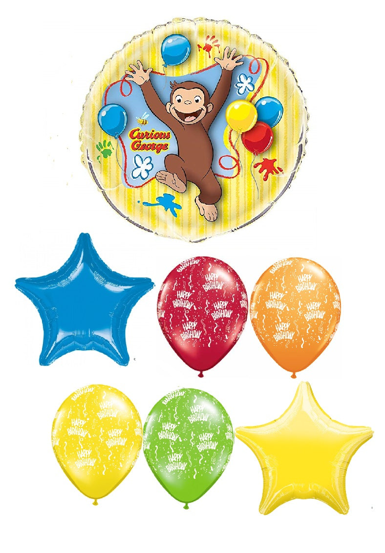Curious George Birthday Bouquet 1