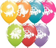 Cute Dinosaur Assortment Balloons