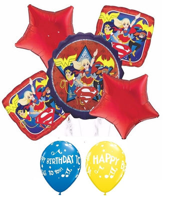 Hero Girls Birthday Balloon Bouquet 2