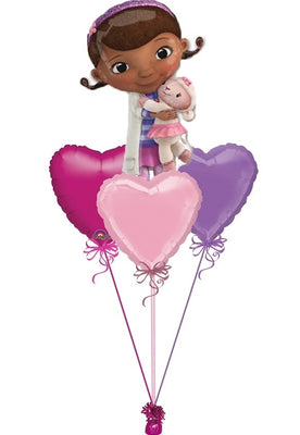 Doc McStuffins Balloon Bouquet 1