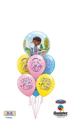 Doc McStuffins Bubbles Balloon Bouquet 2