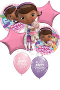 Doc McStuffins Birthday Balloon Bouquet 3