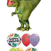 Dinosaur T-Rex Birthday Balloon Bouquet