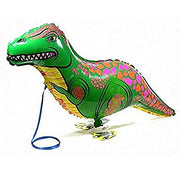 Dinosaur Small T-Rex Pet  Balloon Includes Helium
