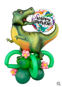 Dinosaur T-Rex Birthday Stand Up  Balloon Decorations