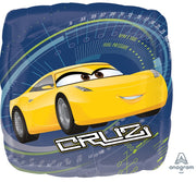 Disney Cars Cruz Jackson 18 inch Foil Balloon