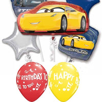 Disney Cars Cruz Jackson Birthday Balloon Bouquet