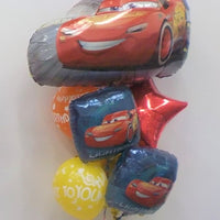Disney Cars Lighting McQueen Happy Birthday Balloon Bouquet