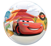 Disney Cars Lighting McQueen Mater 22 inch Bubbles Balloon
