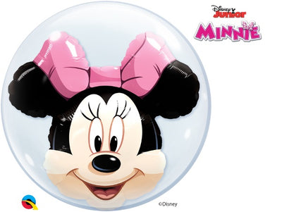 Disney Minnie Mouse Double Bubbles Balloons