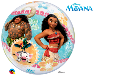 Disney Moana and Maui Bubbles Balloon