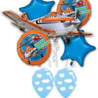Disney Planes Birthday Balloon Bouquet