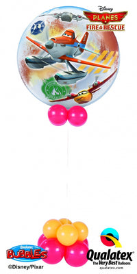 Disney Planes Bubbles Balloon Centerpiece