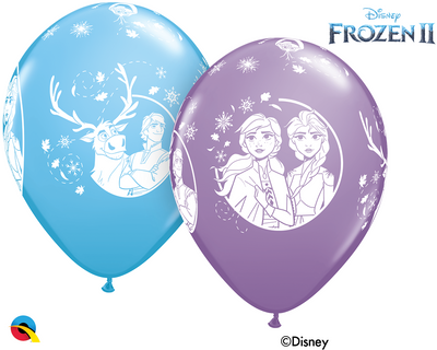 Disney Princess Frozen 2 Elsa and Anna Assortment Balloons