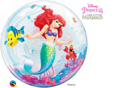 Little Mermaid Ariel Disney Princess Bubbles Balloon